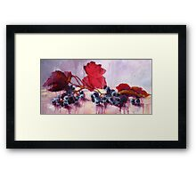 Blue Grape Framed Print