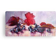 Blue Grape Metal Print