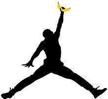 Jumping Banana Photographic Print