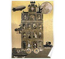 Zora Lavinski's Moving Rooming House Poster