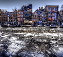 Amsterdam in Ice by Nik Jowsey