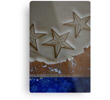 Star Cookies Metal Print