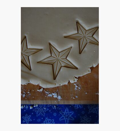 Star Cookies Photographic Print