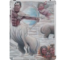 Humorous Painting for my Boss iPad Case/Skin