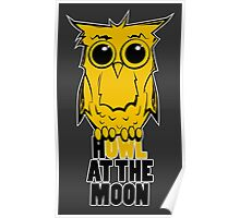 HOWL at the Moon Poster