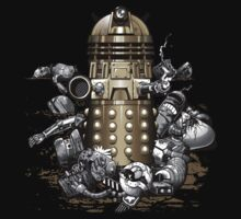 TShirtGifter Presents: Exterminated - Dr Who/Davros Dalek Destroys to Rule Them All