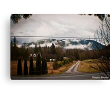 Washington Winter Canvas Print