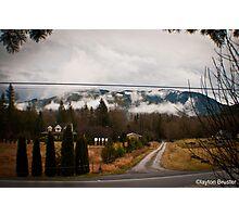 Washington Winter Photographic Print