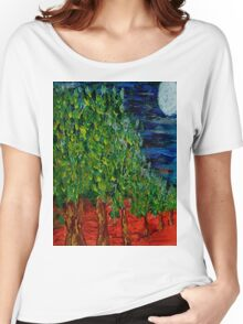 Avenue of Trees Women's Relaxed Fit T-Shirt