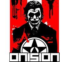 Onision Joker Shirt Photographic Print