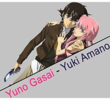 future diary yuno gasai yuki anime manga shirt Photographic Print