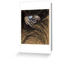 Great grand-mothers hands.... Greeting Card