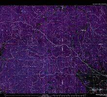USGS Topo Map Oregon Nehalem River 283106 1979 100000 Inverted by wetdryvac