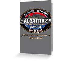Alcatraz Escapee Greeting Card