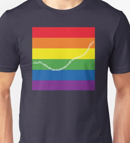 guilty gay pride family guy Unisex T-Shirt
