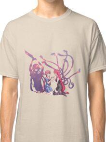 future diary mirai nikki elfen lied lucy yuno gasai anime manga shirt Classic T-Shirt