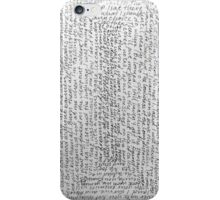 Words 1 iPhone Case/Skin