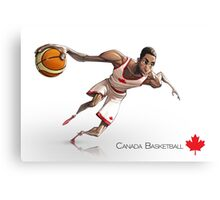 Andrew Wiggins - Canada Basketball Canvas Print