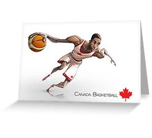 Andrew Wiggins - Canada Basketball Greeting Card