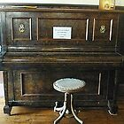 Upright Piano at the Greendale Hotel by EdsMum
