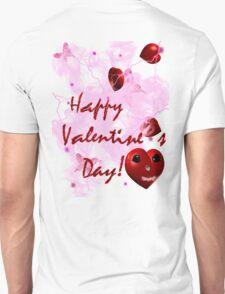 i heart u graphic valentine T-Shirt