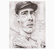 'Joe DiMaggio' gourmet caricature by Sheik Unisex T-Shirt