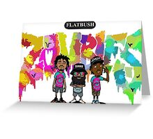 Flatbush Zombies 4 Greeting Card