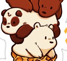 We Bare Ice-Cream Sticker