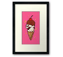 We Bare Ice-Cream Framed Print