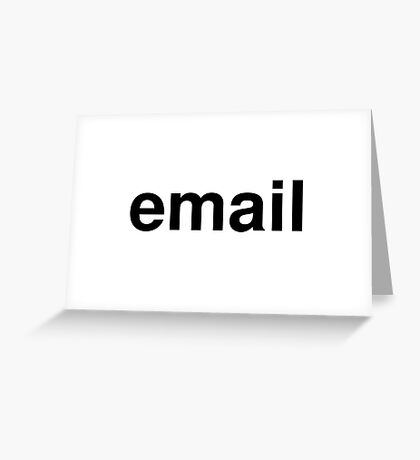 email Greeting Card