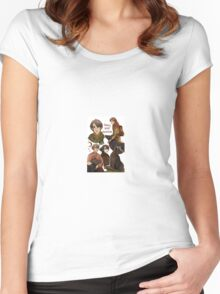 Sirius Black and Remus Lupin Women's Fitted Scoop T-Shirt