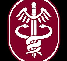 United States Army Medical Command by wordwidesymbols