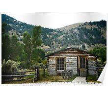 Spokane Mining House Poster