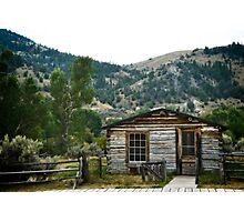 Spokane Mining House Photographic Print