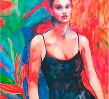 Jungle Heart Woman by Coni Donaldson