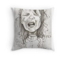 Walking Dead 'Penny' gourmet caricature by Sheik Throw Pillow