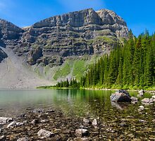 Bourgeau Lake by MichaelJP