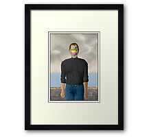 Father of Apple Framed Print