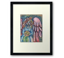 Angel Wedding Framed Print