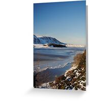 Sutherland on ice Greeting Card