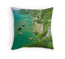 5 ★★★★★ . The beach of Myrtiotissa . Corfu. Greece  -  one of the most beautiful beaches in Europe. by Brown Sugar. F*** Views (637) . Favs (4). Mu ine poli efcharisto ! thanks !!! Throw Pillow