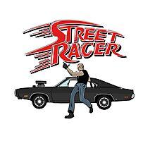 Street Racer Photographic Print