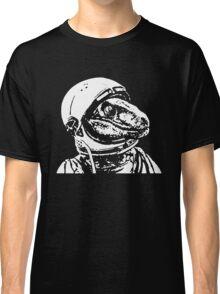 Space Dinosaur Velociraptor Astronaut Classic T-Shirt