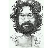 'Jerry' gourmet caricature by Sheik Photographic Print