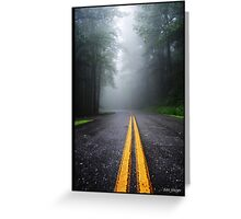 Leading Lines Greeting Card