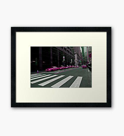 TAXI???? Framed Print