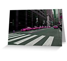 TAXI???? Greeting Card