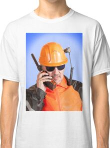 Industrial worker. Classic T-Shirt