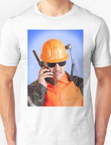 Industrial worker. Unisex T-Shirt