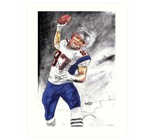 The UNSTOPPABLE Gronk Art Print